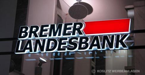 Koslitz Werbeanlagen GmbH - Werbeanlage - BREMER LANDESBANK