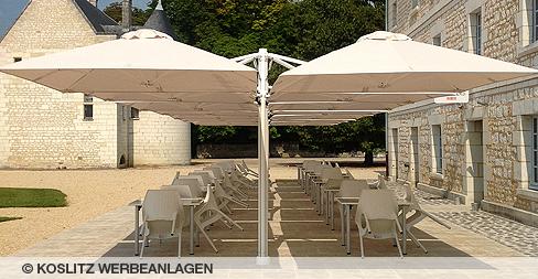 Sonnenschirm - Koslitz Werbeanlagen GmbH