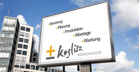 Koslitz Werbeanlagen GmbH - Service