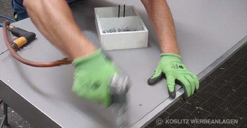 Koslitz Werbeanlagen GmbH - Produktion